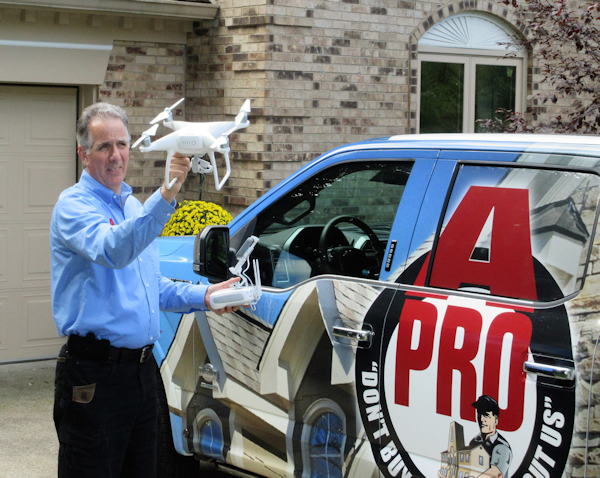 drone inspection in Clermont, Warren, Butler and Brown Counties as well as Anderson Township in Hamilton county